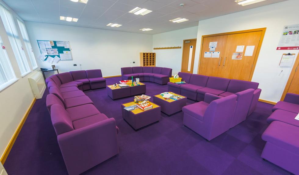 Jewell Academy communal space