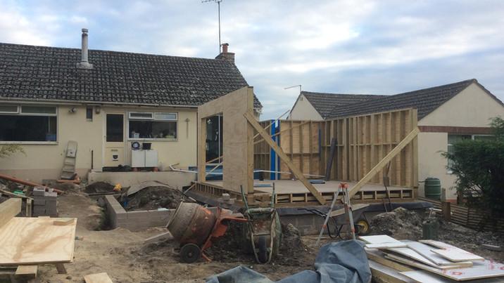Fir House construction 2