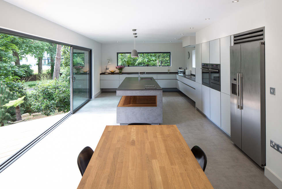Floating House Kitchen Interior 1