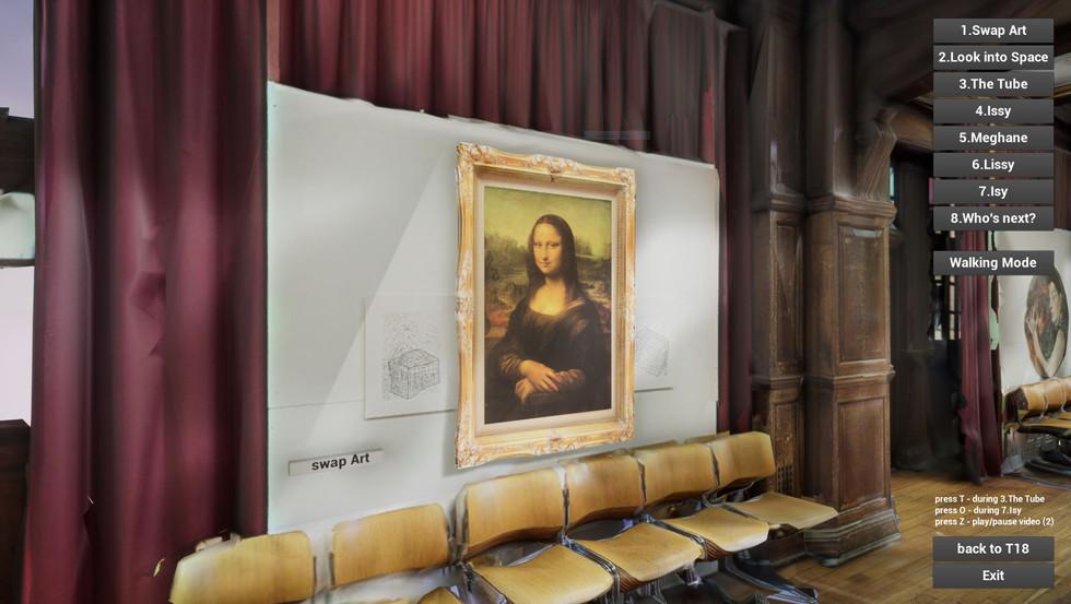 St Pauls Mona Lisa visual