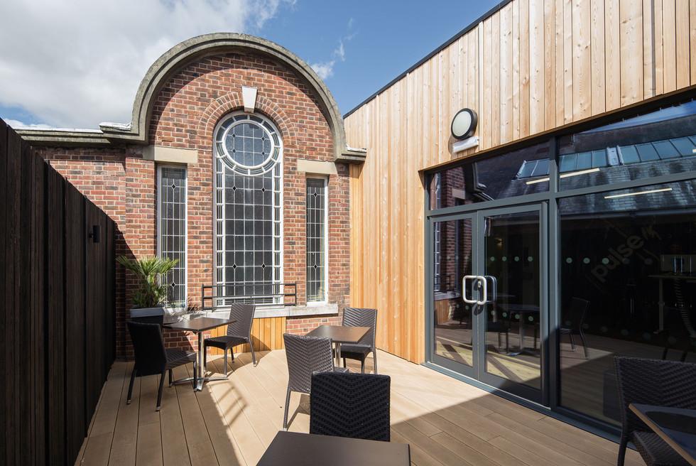 Stokewood courtyard