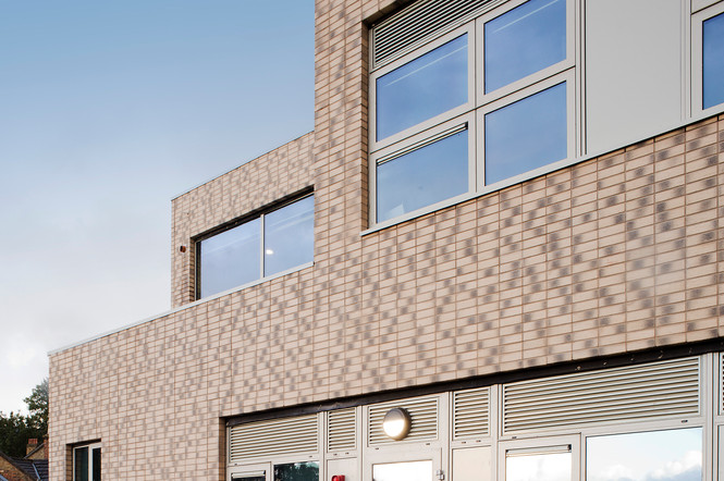 Lambeth School exterior stepped