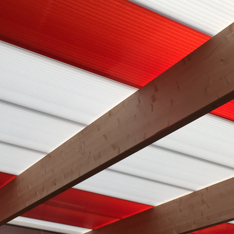 Downton Primary School External Classroom roof detail