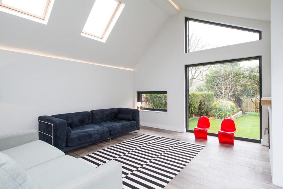 Fir House living room interior 1