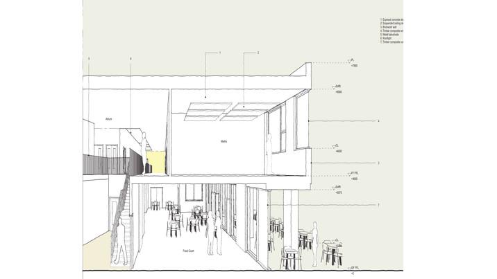 Melksham Oak School plan sketch 2
