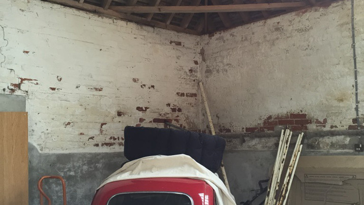 New Forest Farmhouse garage