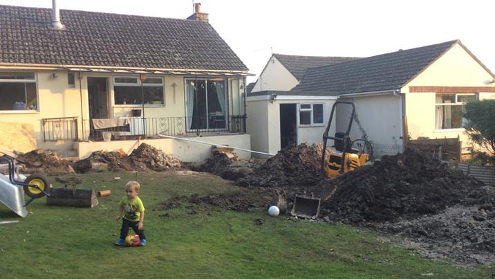 Fir House before construction