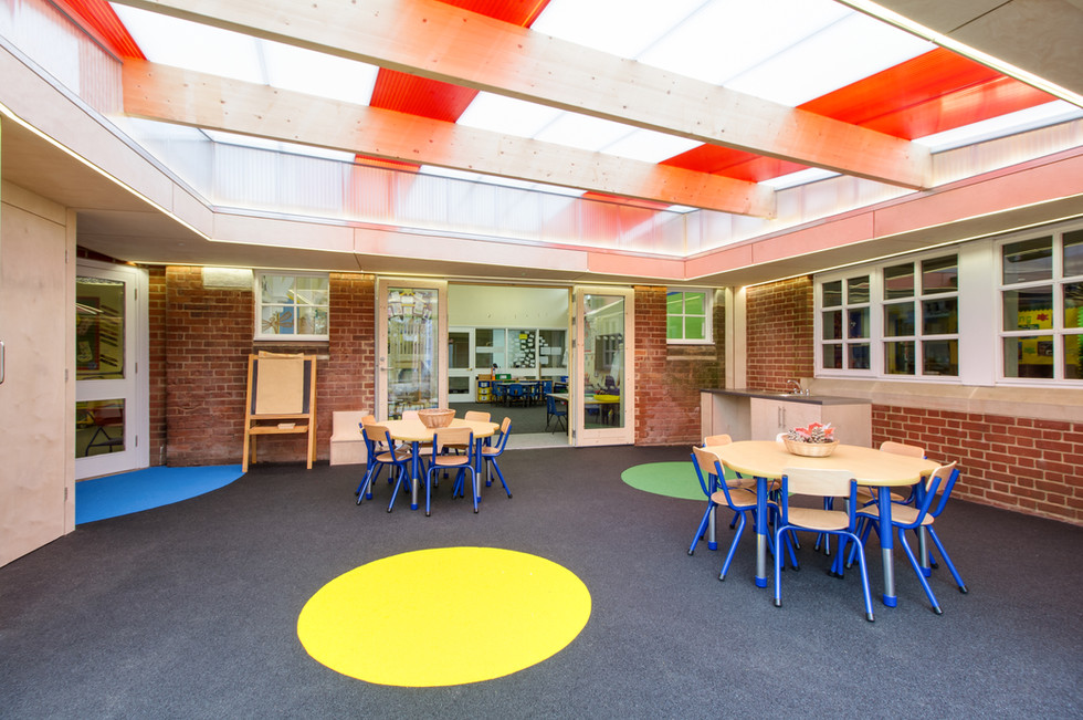 Downton Primary School External Classroom internal