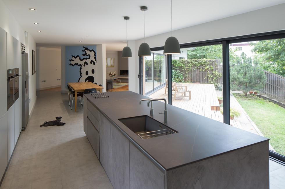 Floating House Kitchen Interior 3