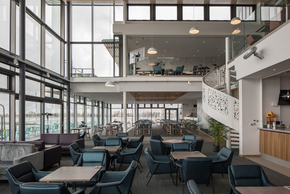 Parkstone Yacht Club entrance lobby