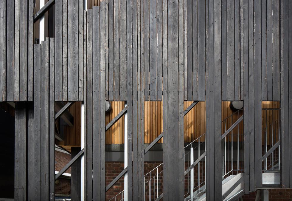 Stokewood timber slat detail