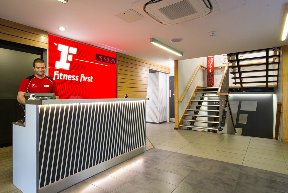 First Fitness reception