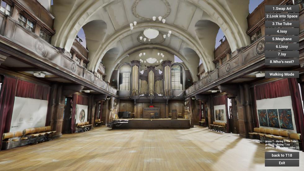 St Pauls main interior visual