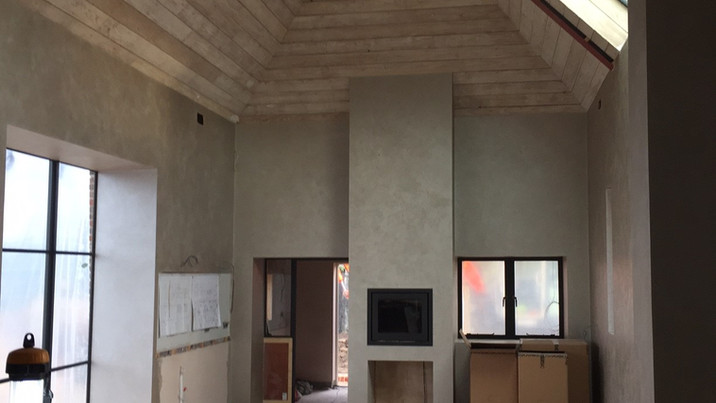 New Forest Farmhouse interior construction