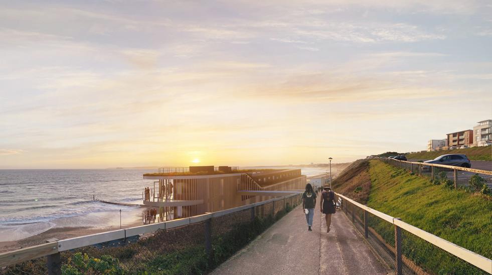 Bistro on the Beach Sunset visual