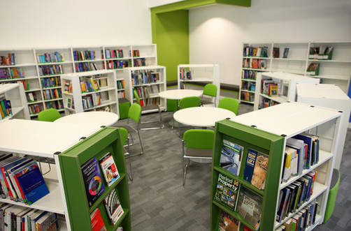 Bournemouth and Poole College Learning Resource Centre Interior 2