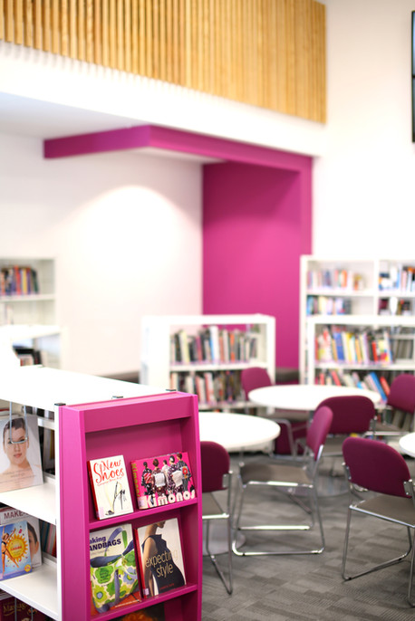 Bournemouth and Poole College Learning Resource Centre Interior 4
