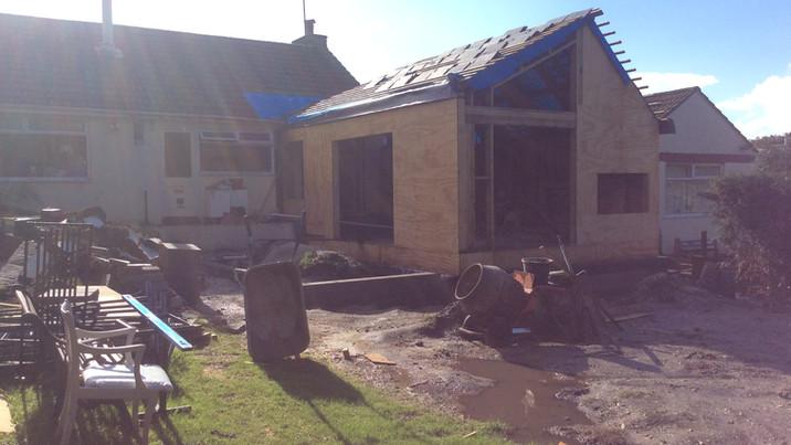 Fir House construction 5
