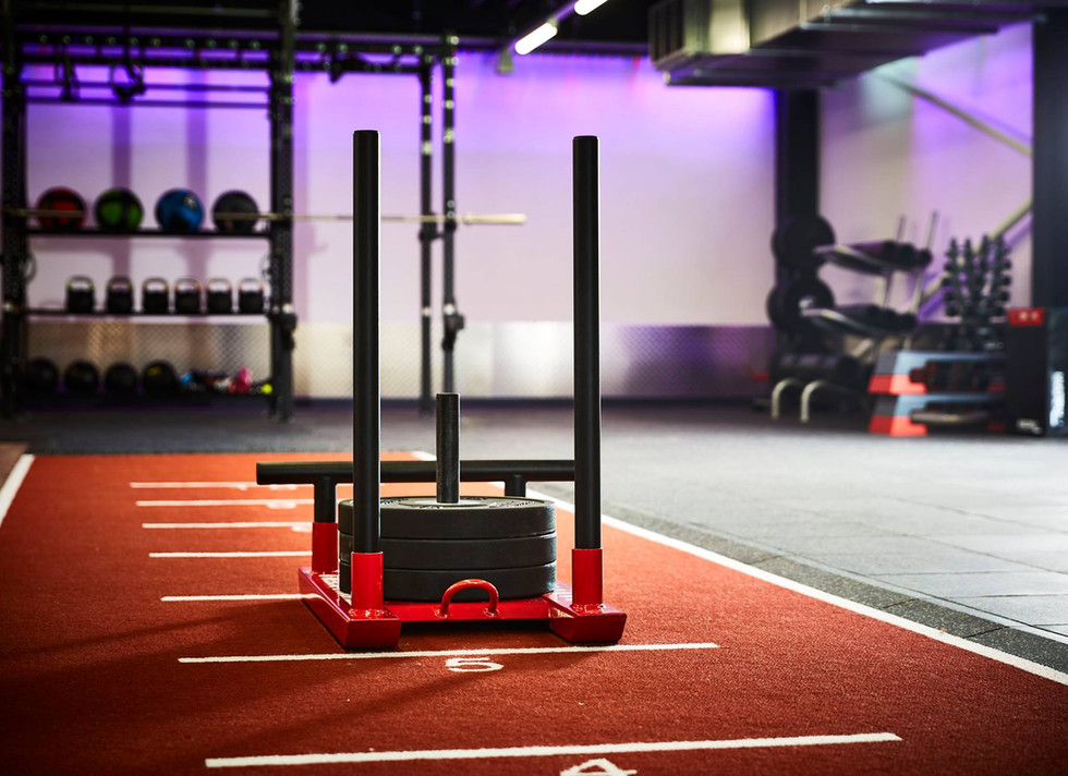 Stokewood interior gym equiptment
