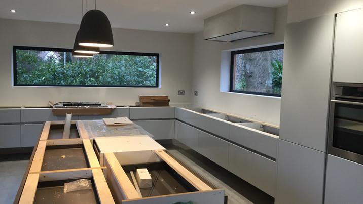 Floating House kitchen refurb