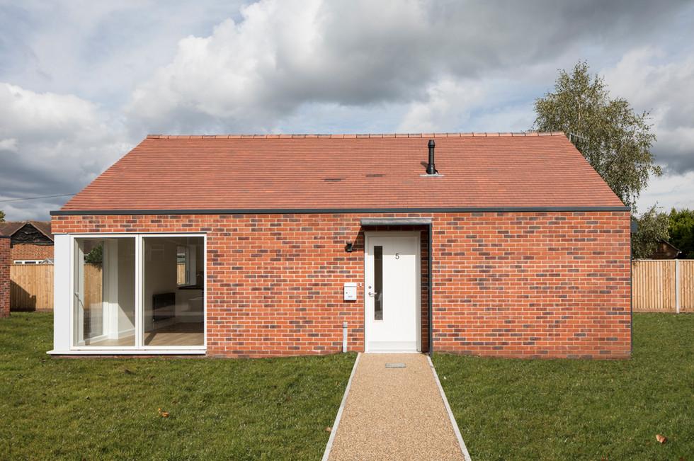 Bournemouth War Memorial Homes side exterior