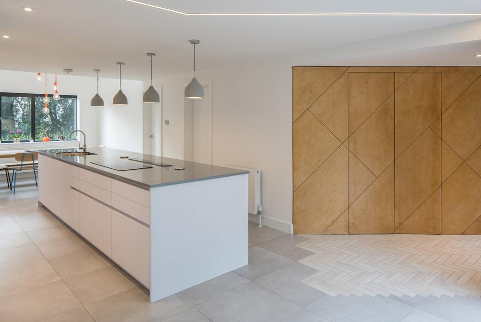 Branksome Wood kitchen entrance