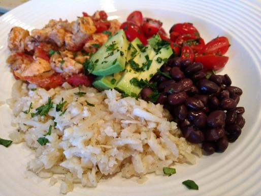 Chicken Burrito Bowls (Slow Cooker)