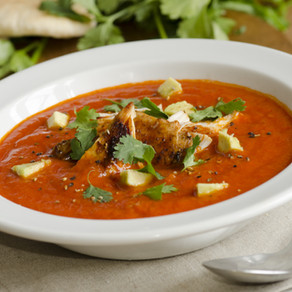 Spicy  Chicken Soup (Slow Cooker)