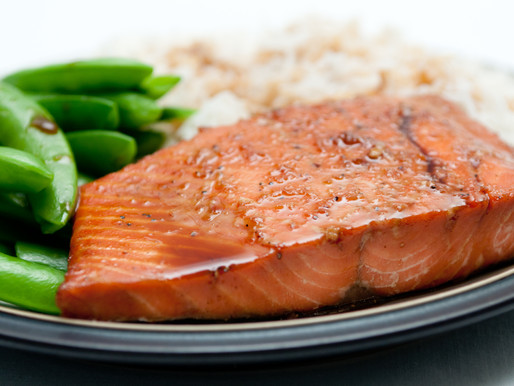 Sesame Orange Salmon