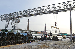 Завод ТВЭЛ-Тобольск. Отгрузка готовой продукции