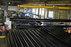 Завод ТВЭЛ-Тобольск. Склад труб в 3-слойной изоляции