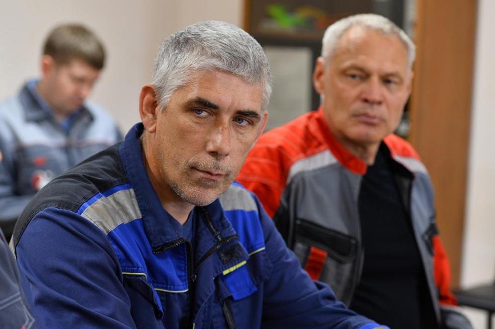 Завод ТВЭЛ-Тобольск. Производственное совещание