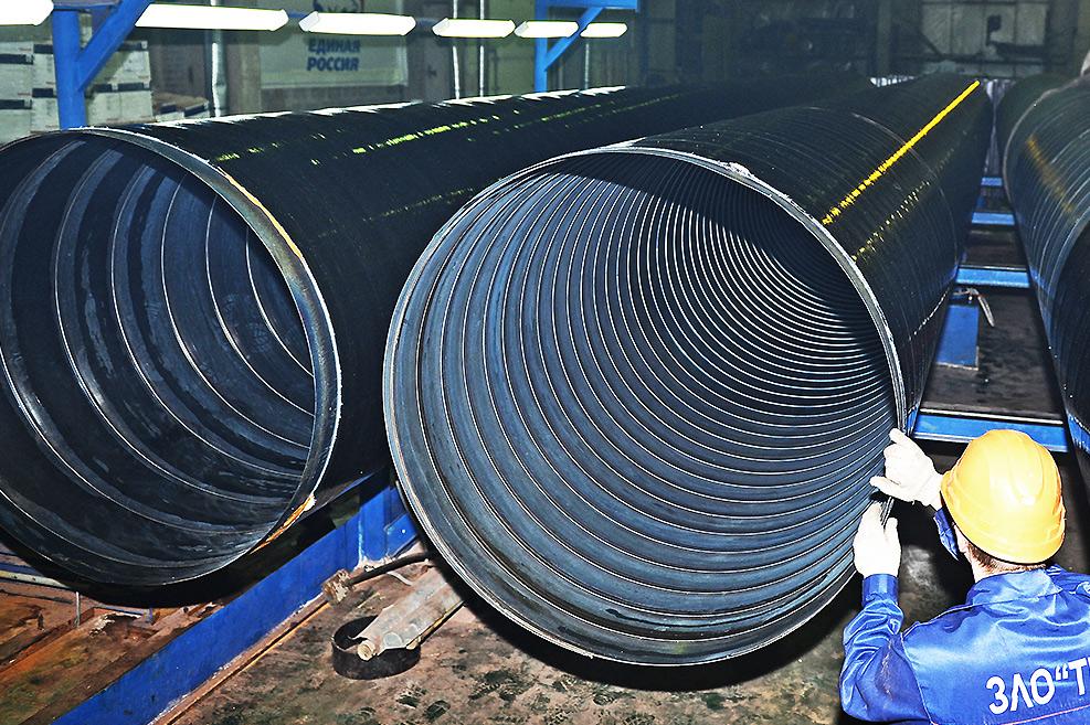 Завод ТВЭЛ-Тобольск. Металл-полимерные трубы-оболочки