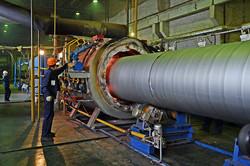 Завод ТВЭЛ-Тобольск. Прогрев труб-оболочек в газовой печи