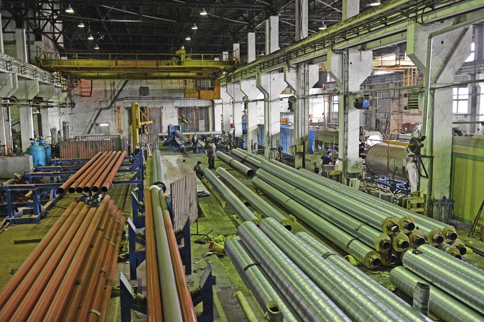 Завод ТВЭЛ-Тобольск. Участок теплоизоляции труб