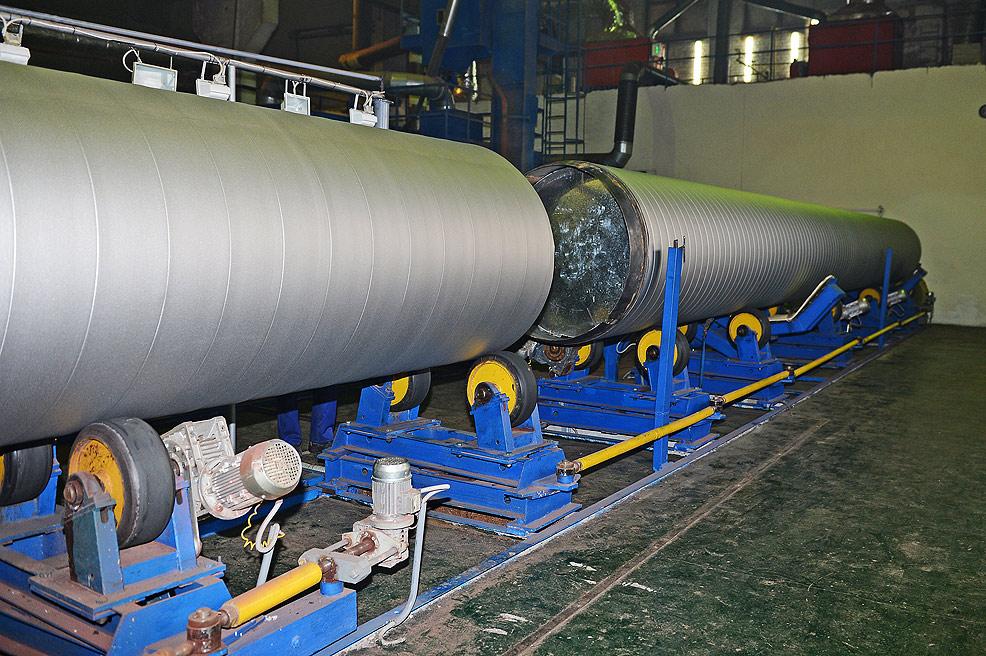 Стыковка труб-оболочек в единую плеть для обеспечения непрерывности технологического процесса
