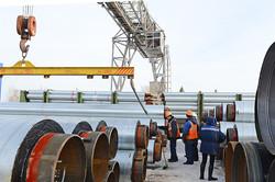 Завод ТВЭЛ-Тобольск. Погрузка готовой продукции на железнодорожные платформы