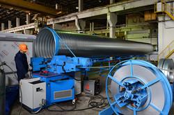Завод ТВЭЛ-Тобольск. Изготовление трубы-оболочки из оцинкованной стали