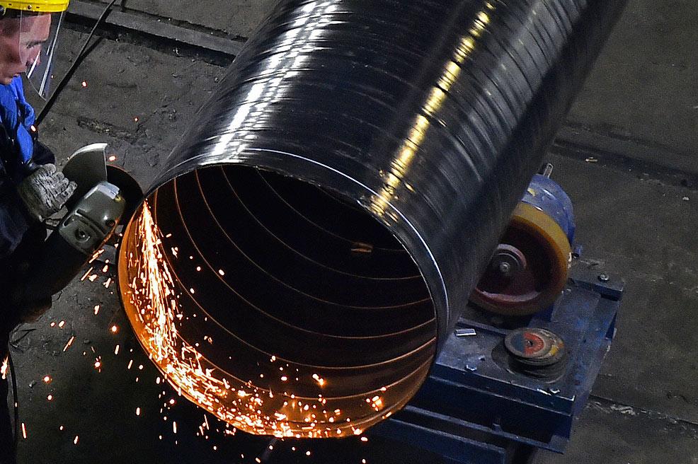 Завод ТВЭЛ-Тобольск. Торцевание металл-полимерной трубы-оболочки