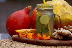 Kürbis-Ingwer-Limonade