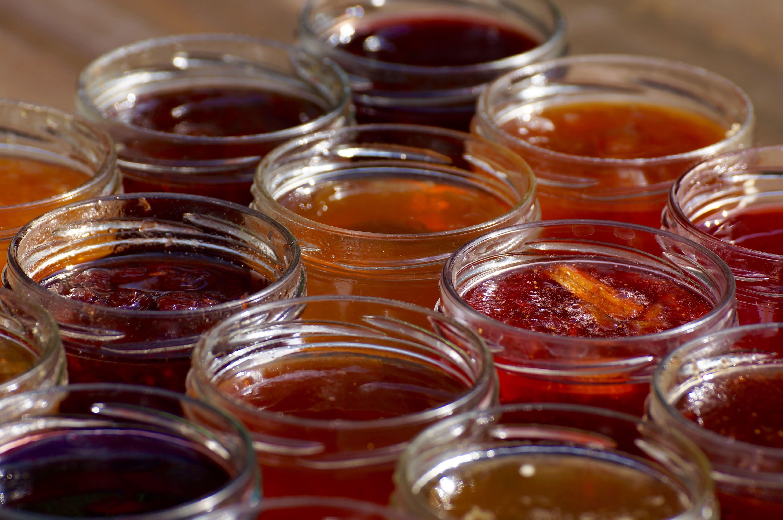 Marmelade und Gelee