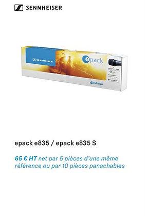 SENNHEISER epack e835/e835-s