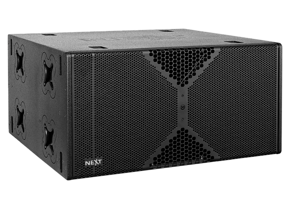 NEXT LAs418G - Double Bass Ground Stack Reflex Subwoofer