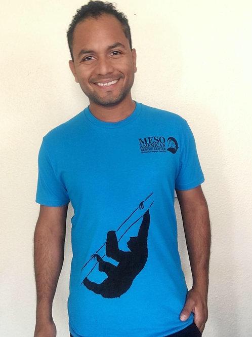 Turquoise - Sloth T-shirt