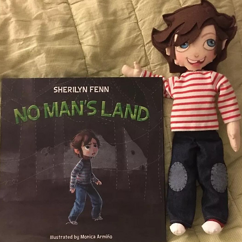 No Man's Land Book And Doll