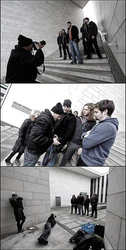 Photo shooting with Tom Row