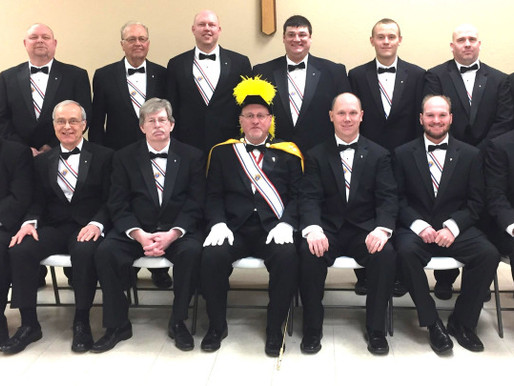 2017 4th Degree Class - Algona