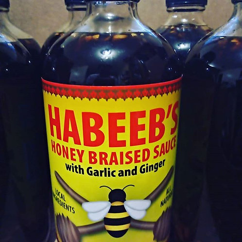Case of Habeeb's Honey Braised Sauce
