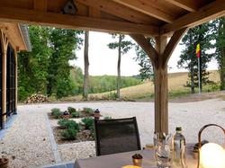 Extension et terrasse couverte
