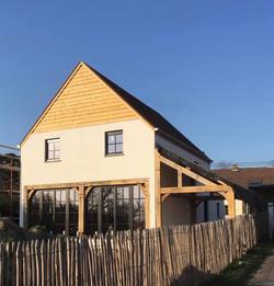 Maison 100% structure chêne